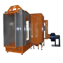 Tunnel Powder Coating Spray Booth for Window, Door Frame