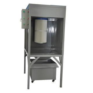 Small Powder Coating Recovery Booth