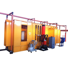 Automatic Powder Coating Booth System with Filter Recovery