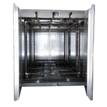 Batch Box Powder Coating Oven with Overhead Conveyor