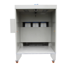 Manual Powder Coating Booth, Filter Powder Coating Booth